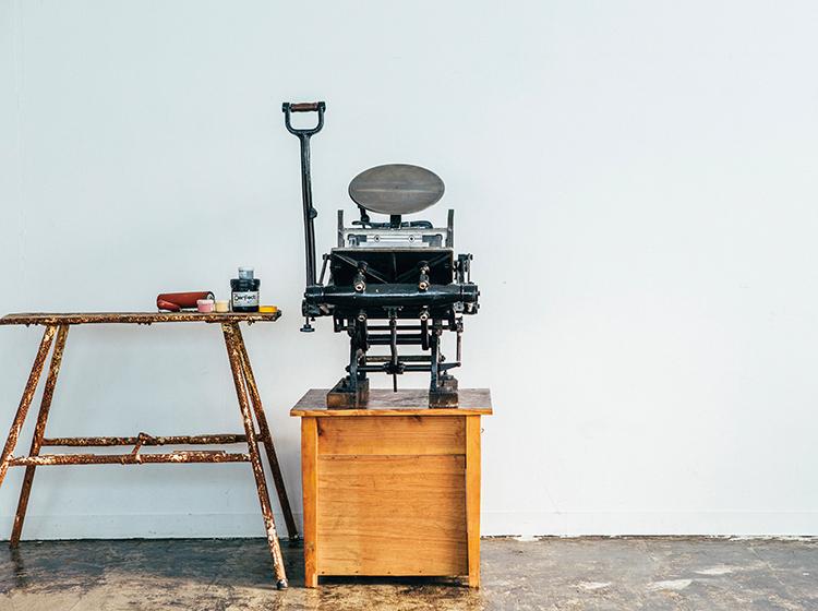 テキン (手動活版印刷機)
